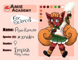 Piper application - Amie academy by Feligriffin