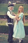 Alice and Rabbit - Dance by Sora-Phantomhive
