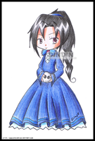 Gothic Girl by dinchan