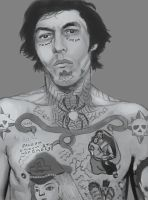 WIP : Russian Criminal Tattoo2 by Alineas