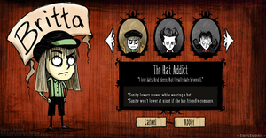 Don't Starve - Britta by TariToons