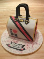 Pauls Boutique Bag Cake. by RebeccaRoseBrine