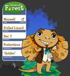 Idlewood Forest App - Maxwell Perdido by TamarinFrog