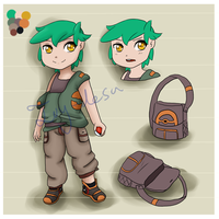 Pokemon Trainer Adoptable by Ivy-Desu