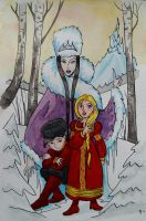 The Snowqueen by MaryJet