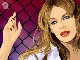 Kylie Minogue by alpio
