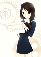 Happy Birthday JEEEEEEEEEY by NayukiMarcia