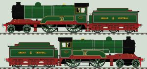 LNER D11/1 liveries - 501 'Mons' by 2509-Silverlink