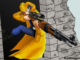Advanced Wars - Sniper GRIT by Doton-Element