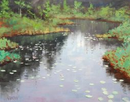 Pond Reflections by artsaus
