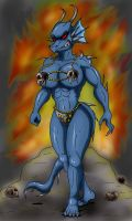 Presenting The Evil Dragoness by paladin095
