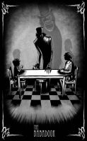 Dining with Mr Babadook by PSYCHONOID