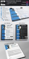 Professional Resume Template + Cover Letter by biglord