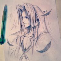 Sephiroth by ShelindaArt