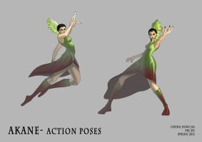 Akane Action by re45on
