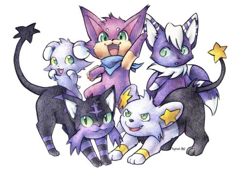 Team Starrypurrloin 2017 by Siplick