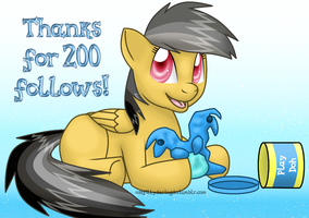 AFDD: 200 Followers! by Rainbow-Smashed