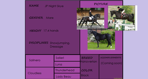 JP Night Skye Pedigree by HonchoFreddy