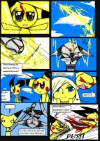 Pikachu Versus Grey Mouse by Dead-Jackal