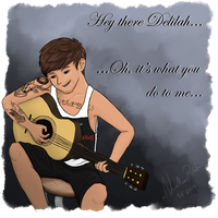 Hey There Delilah... - Louis Tomlinson by xLilacNiallDoex