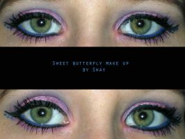 Sweet Butterfly Make Up by Toxic-Sway