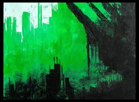 untitled green acrylic by ViralDeftone