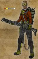 WWII Concept art soldier... by tvfunnyman