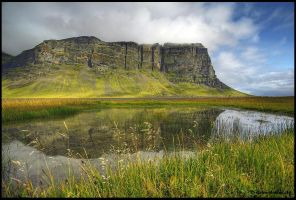 mirrors of iceland by Dave-Derbis