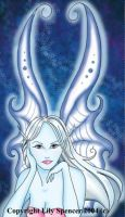 Blue Fae by PickledPixie