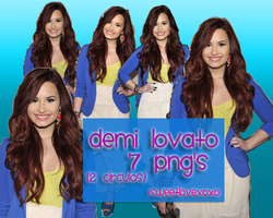 Demi Lovato 7 PNG's by SweetLoveXOXO