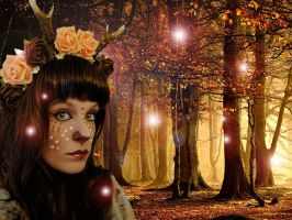 Dreams of a Faun by KittyTheCat-Stock