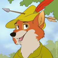 Fan Favorite Series #10 - Robin Hood by sophiecabra