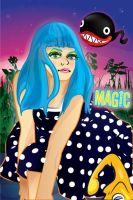 62. - Magic - Eruka Frog by nicole-m-scott