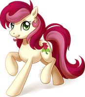 Roseluck commission by ShinePawPony