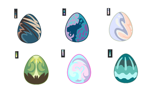 Egg Adopts-5 points each-CLOSED by PillowRabbit