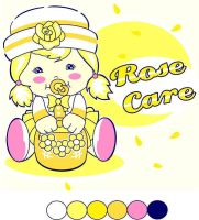 rose care the flower girl by jeffbedash325