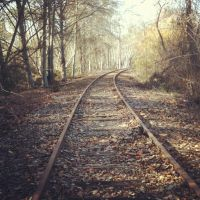 Abandoned Train Tracks by LovelyDearyYou