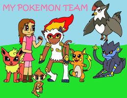 My Pokemon Team- Sinnoh by FirePokeMaster
