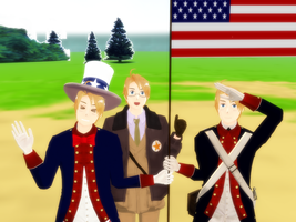 God Bless America by snips800