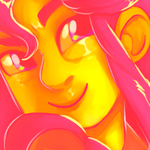 Francine Avi [Yellow and Pink] by Welcoming-Meg
