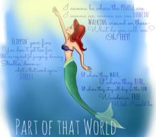 Ariel- Part of that World by nymphadoratheexplora