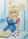 Namine and Stitch by dagga19