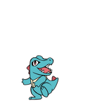 What? Totodile is Evolving! (Gif) by Spyfox207