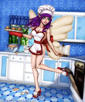 Faerie Pastry Chef by Sirenz