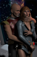 Mirror Picard and Crusher by NVent3d