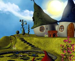 faery place 02 by Ecathe