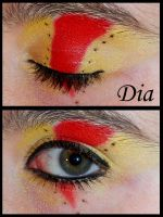 Lideya Eye Makeup by Didaverseend