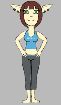 Day 10: Wii Fit Trainer by PendulumWing