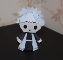 Toshiro - Chibi papercraft by HoneyBee249