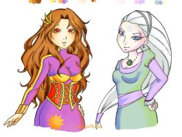 Sun and Moon by SpigaRose